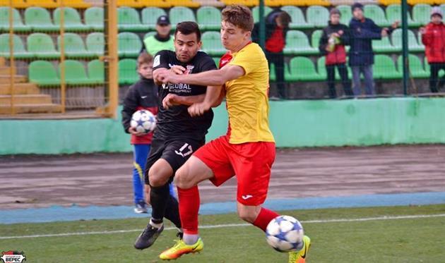 Антон Котляр (№17), фото ФК Верес