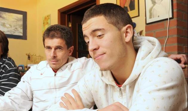 Азар с отцом