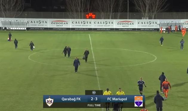 Мариуполь — Карабах 3:2 Видео голов и обзор матча
