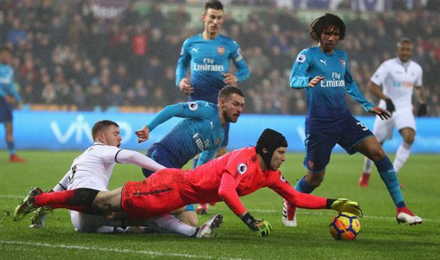 Суонси - Арсенал, Getty Images