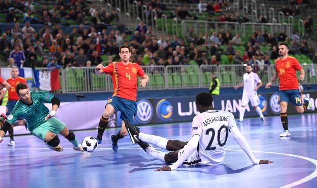 Испания - Франция, twitter.com/futsaleuro2018