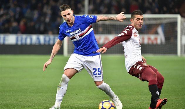 Сампдория - Торино 1:1, фото ФК Сампдория