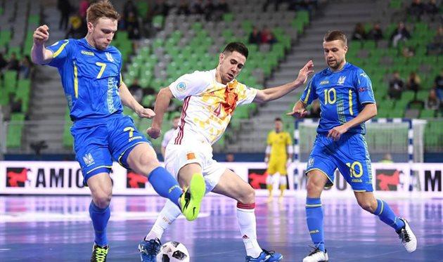 Украина - Испания, фото: futsal.com.ua