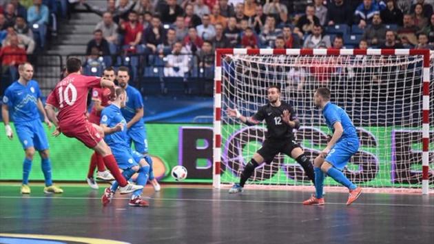 Россия – Казахстан, фото: УЕФА