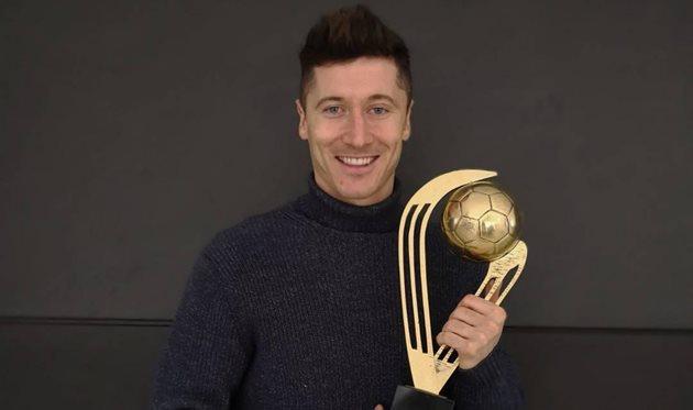 Левандовски стал лучшим в Польше 7-й год подряд