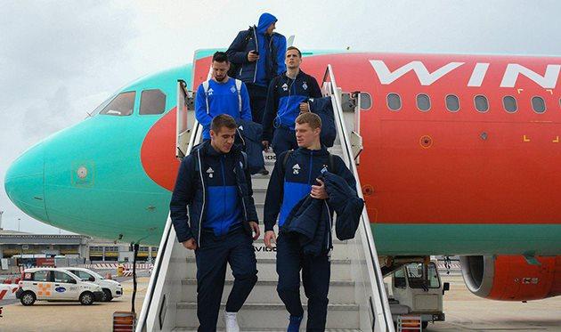 Динамо прилетело в Рим, а ты лети на канал Football.ua