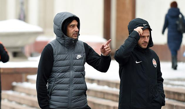Паулу ФОнсека и Игорь Дуляй, фото фк шахтер