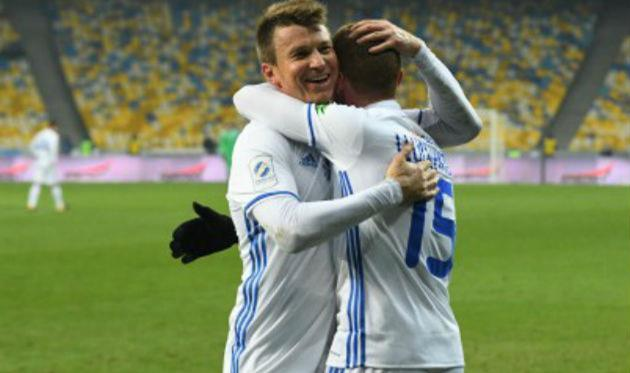 Руслан Ротань (слева), ФК Динамо Киев