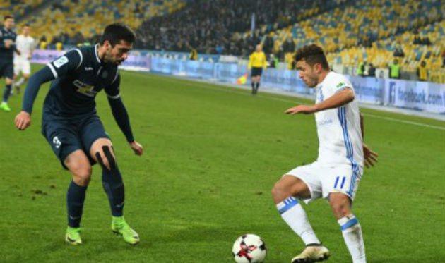 Жуниор Мораес (справа), ФК Динамо Киев