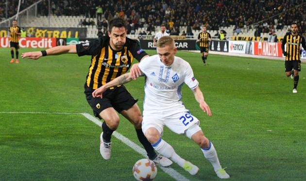 АЕК - Динамо 1:1, фото ФК Динамо