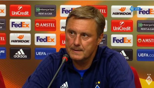 Хацкевич: Мы должны пройти дальше, а о проблемах АЕКа пусть думает их тренер