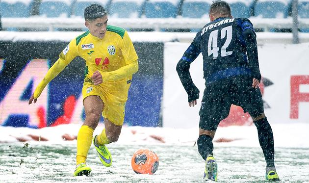 Марьян Швед (слева), фото: ФК Карпаты