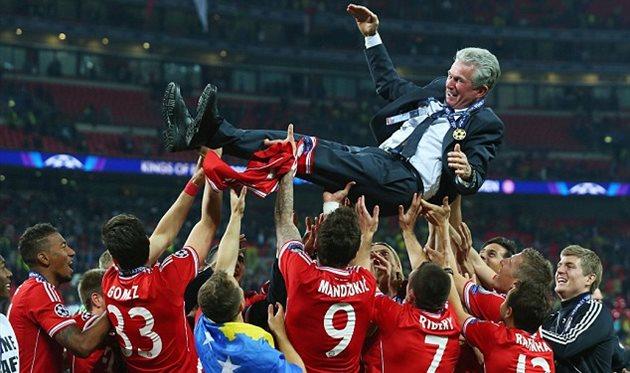 Триумф Баварии в финале Лиги чемпионов. Getty Images