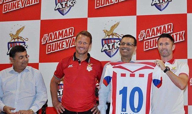 Робби Кин возглавил Атлетико из Индии