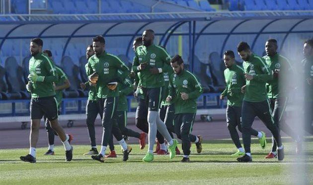 Фото пресс-службы федерации футбола Саудовской Аравии