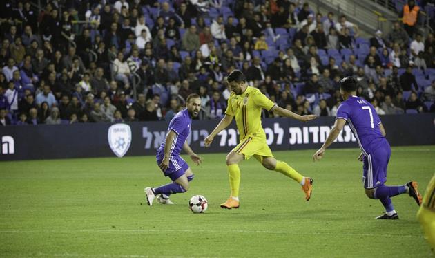Румыния обыграла Израиль в товарищеском матче