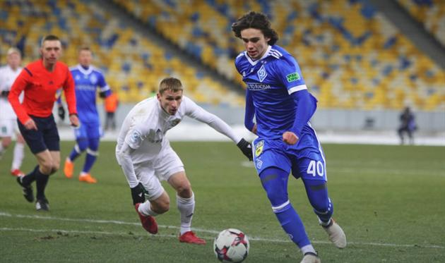 Николай Шапаренко, фото ФК Динамо