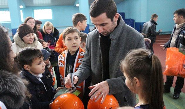 Дарио Срна, фото Василий Войтюк/football.ua
