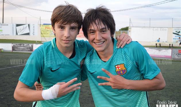 Адриан Бернабе (слева)