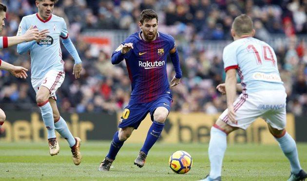 Сельта - Барселона, twitter.com/FCBarcelona