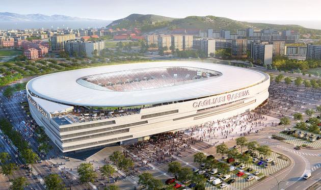 Новый стадион Кальяри, cagliaricalcio.com