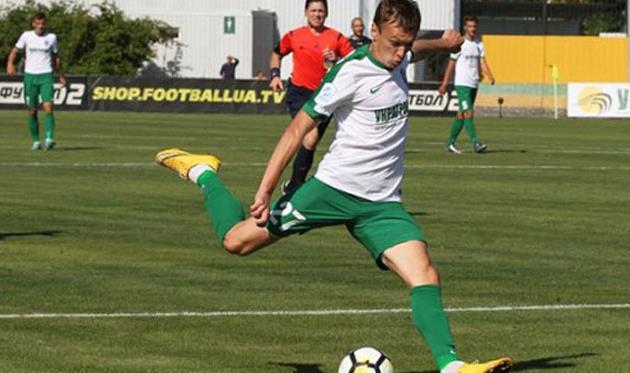Автор первого гола в матче Сергей Старенький, Getty Images