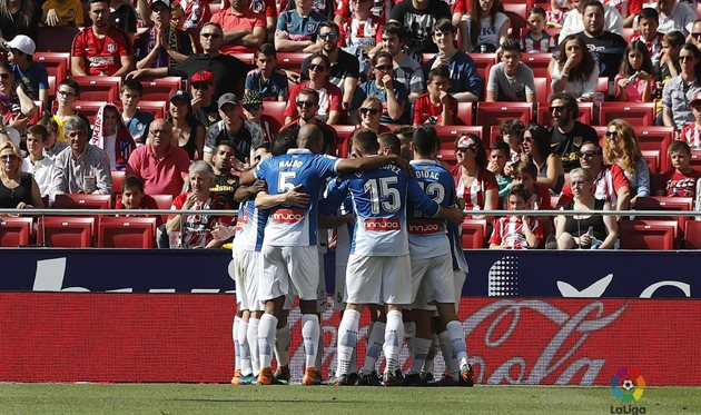 Атлетико - Эспаньол 0:2, фото ФК Эспаньол