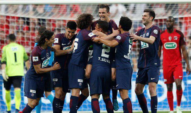 ПСЖ в 12-й раз выиграл Кубок Франции, lemonde.fr