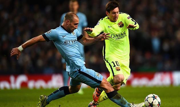 Пабло Сабалета против Лионеля Месси, Getty Images