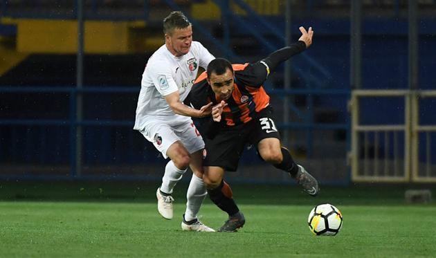 Исмаили в матче против Вереса, фото: ФК Шахтер