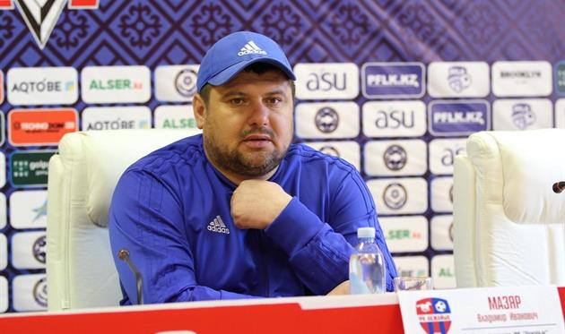 Мазяр покинул пост главного тренера Акжайыка