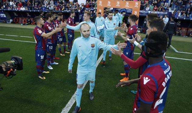 Андрес Иньеста, фото ФК Барселона
