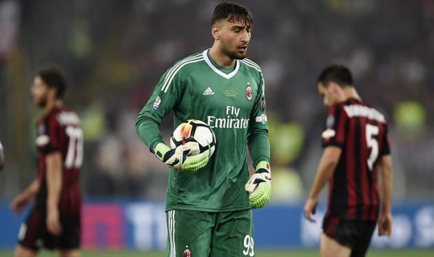 Джанлуиджи Доннарумма, фото ФК Милан