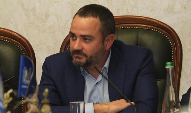 Андрей Павелко, ФФУ