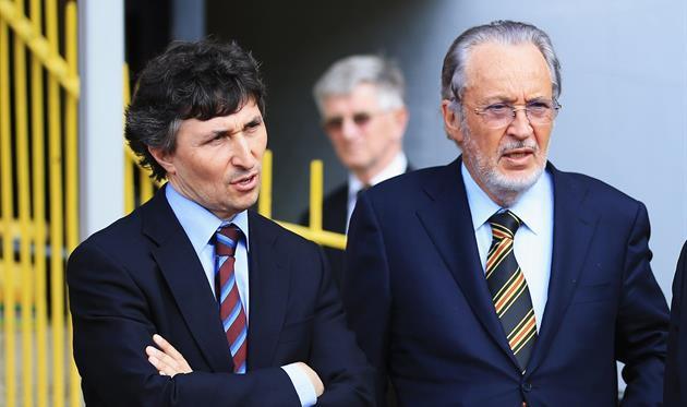 Джино (слева) и Джанпаоло Поццо подыскивают тренера для Удинезе, Getty Images