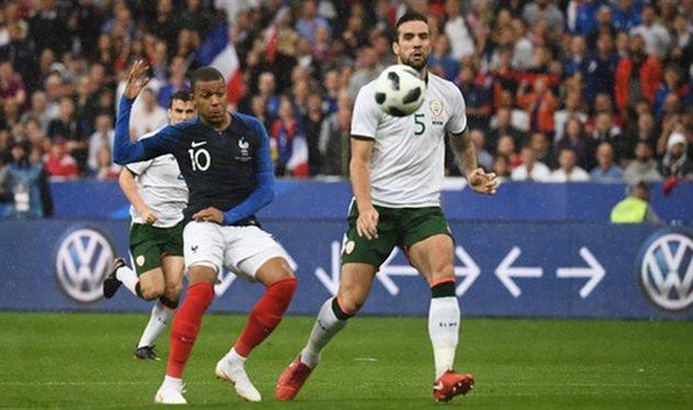 франция одержала победу над ирландией, twitter.com/equipedefrance