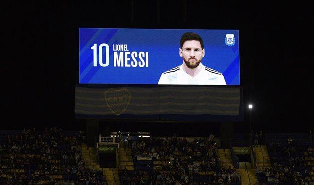 Месси обошел Роналдо по голам за сборную