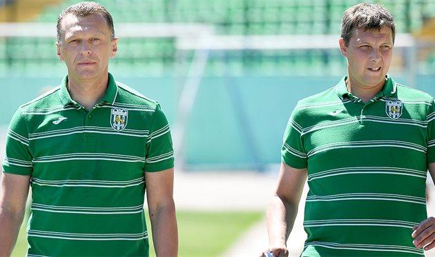Андрей Сапуга и Андрей Тлумак, ФК Карпаты