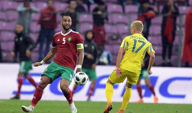 Украина и Марокко завершили матч ничьей