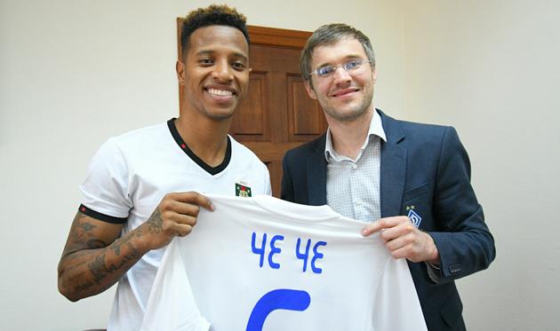 Че Че (слева), фото: ФК Динамо