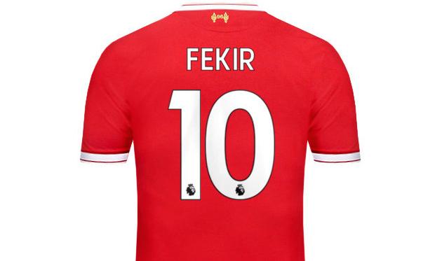 Фекир выбрал номер, под которым должен был играть в Ливерпуле