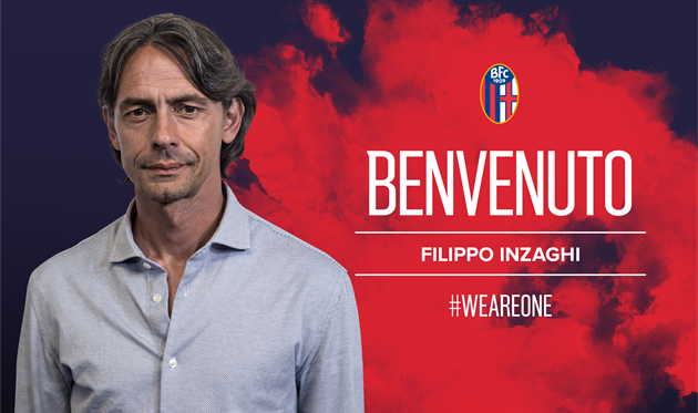 Филиппо Индзаги, фото ФК Болонья