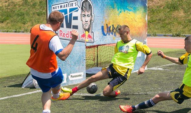 В Киеве состоится Всеукраинский Финал международного турнира по уличному футболу Neymar Jr's Five!