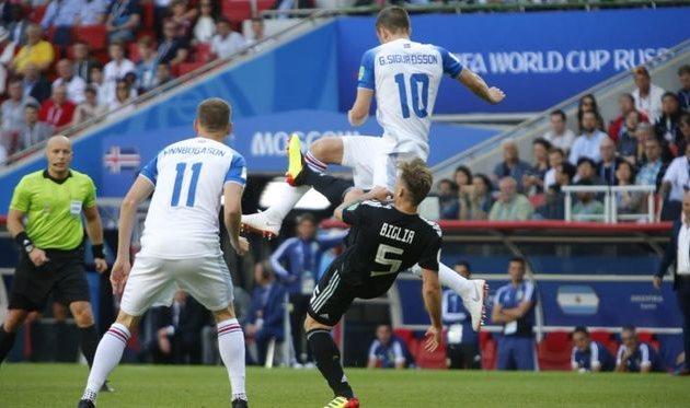 Аргентина - Исландия, twitter.com/argentina