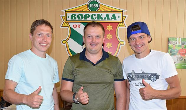 Вадим Сапай (слева) и Павел Ребенок (справа), vorskla.com.ua