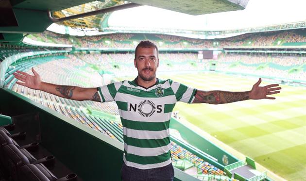 Эмилиано Вивиано, фото ФК Спортинг