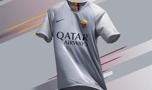 Рома представила запасной вариант формы на сезон 2018/19
