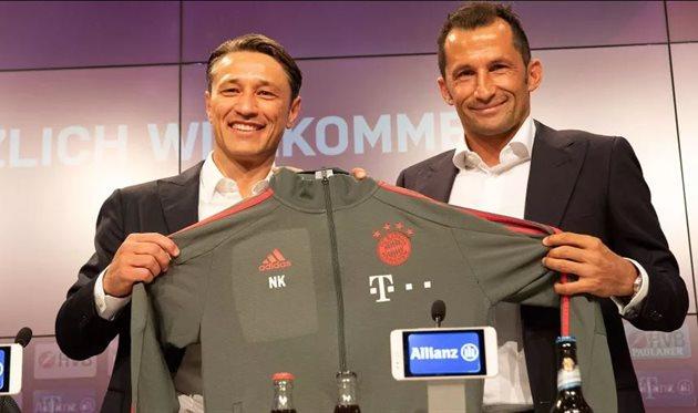 Нико Ковач (слева), ФК Бавария