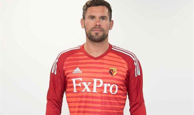 Уотфорд подписал экс-голкипера сборной Англии