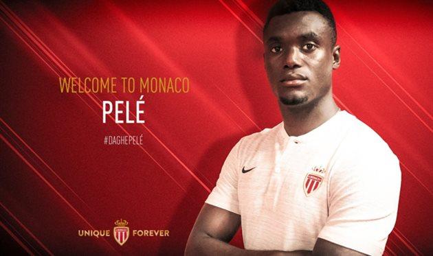 Монако объявил о подписании Пеле